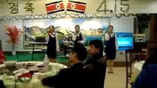 延吉・北朝鮮レストラン/金日成将軍の歌SongofGeneralKimIl-sung