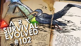 ARK: Survival Evolved - Episode 102 | NEW UPDATE! PELAGORNIS Taming, Fishing Rods, Spiral Staircases