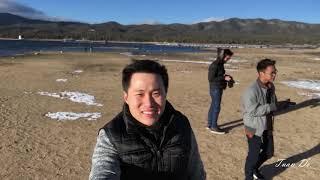 Ngao Du ở Big Bear Mountain, California