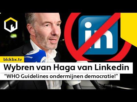 Waarom Linkedin profiel van, Van Haga verwijderde