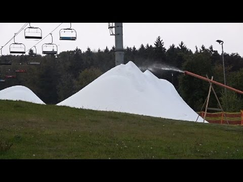 Zasněžování technologií Snowfactory ve Ski areálu Monínec