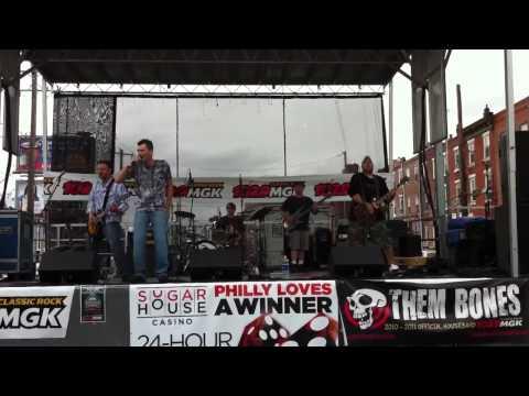 Then Bones @ Italian market Fest- Rebel Yell