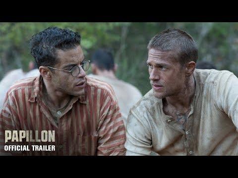 PAPILLON   Official Trailer
