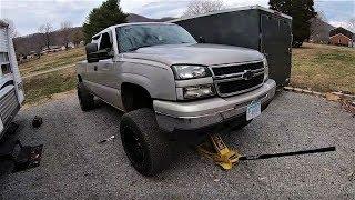 How to Crank the Torsion Keys on 99-07 GM Trucks *FREE LIFT*