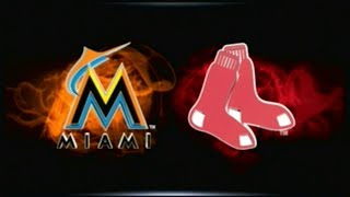 MLB 15 THE SHOW_MARLINS AT REDSOX (2017) GM # 110
