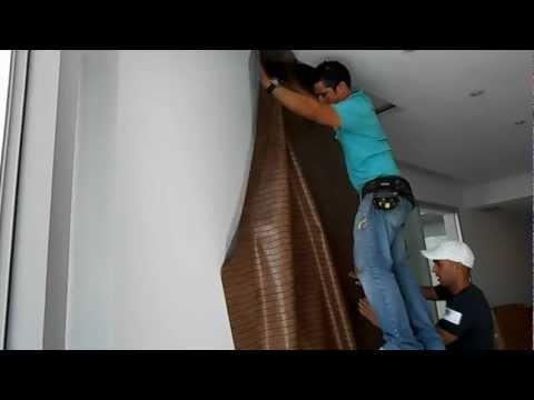 Instalación pared vertical II