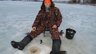 Зимняя рыбалка в самаре и самарской