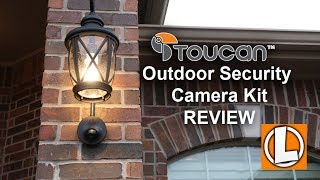Toucan WiFi Security Camera Kit Review - Unboxing, Features, Installation, Setup, Settings, Footage