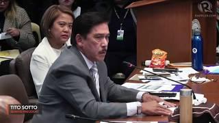 At Senate hearing, Sotto shows coronavirus conspiracy video