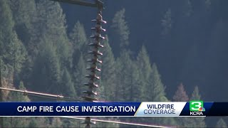 Bullet Holes, Damaged Lines Found Near Camp Fire