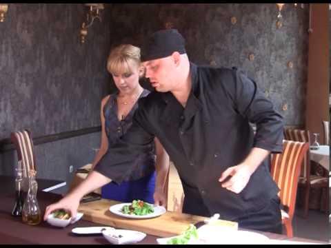 Кушать подано 13 07 2013 в Гранд Кафе. Готовим французский салат (рецепт).