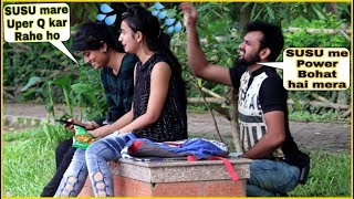 SUSU Prank on Cute Girl's - Epic Funny Reactions| Prank In Kolkata| By TCI