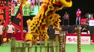 全国舞狮锦标赛 吉弘德体育会三度称霸