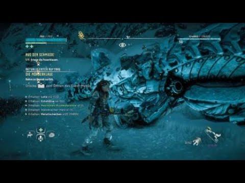 Horizon Zero Dawn Blauglanz Karte.Horizon Zero Dawn Frozen Wilds Alle Tierfiguren Gefunden All