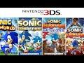 Evolution Sonic Games On 3ds