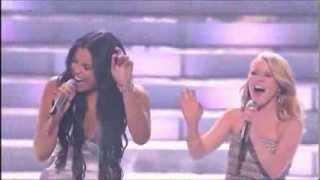 Jordin Sparks & Hollie Cavanagh - Epic Vocal Moment