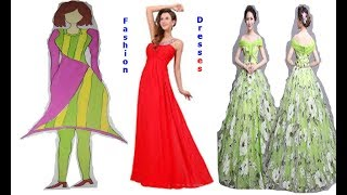 Clothing Styles for Women |Fashion Outfits For Women |Latest Designer Dresses  |New Eid Dress 2017 - Video Youtube