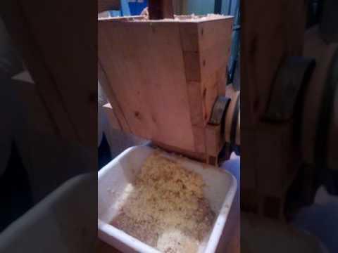 maquina para rayar papas para el milcao