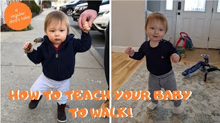 How to Teach Your Baby to Walk | 5 Tips and Tricks