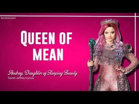 Queen Of Mean - Sarah Jeffrey (Lyrics) [From Disney's Descendants 3]