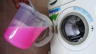 Çamaşır MAKİNESİNE Kova DOLUSU Slime DOLDURDUK Çalıştırdık SLİME vs Washing Machine
