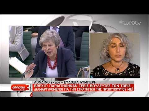 Βαθαίνει η πολιτική κρίση στη Βρετανία – Παραιτήθηκαν τρεις βουλευτές των Τόρις | 20/2/2019 | ΕΡΤ
