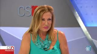 """La moda """"curvy"""" a debate en Noticias Mediodía."""