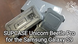 Unboxing: SUPCASE Unicorn Beetle PRO for Samsung Galaxy S9