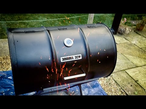 Barrel Boy Barbecue – How to build an Oil Drum Barrel BBQ