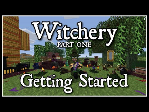 Witchery: Getting Started Part 1 (Witches oven, Cauldron, and the base plants/ingredients)