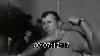 САМБО В СССР: 1969 год тренер Хохлов Вячеслав Михайлович  занимается со студентами МЭИ самбо