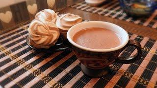 Какао, которое всегда получается! Горячий шоколад. Любимый рецепт.