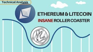 Insane Roller Coaster Day For ETH & LTC - New Yearly Lows