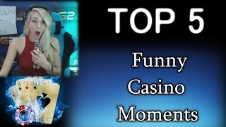 TOP 5 - 🎥 Casino Streamer Highlights & Funny Moments
