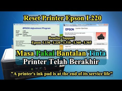 Download Reset Printer Epson L360 Video 3GP Mp4 FLV HD Mp3 Download