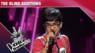 Moksh Gulhati Performs on Slow Motion Angreza | The Voice India Kids | Episode 9