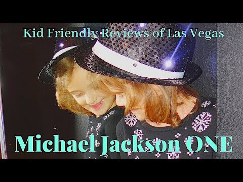 K-So Fun Kids in Vegas Pt 3 ~ Michael Jackson ONE by Cirque du Soleil Review
