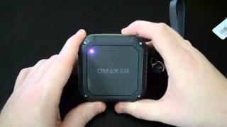 Omaker M4 Portable Bluetooth 4.0 Speaker Rugged/Splashproof/Shockproof Wireless Bluetooth