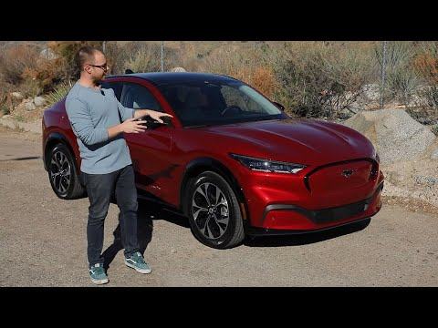 2021 Ford Mustang Mach-E Test Drive Video Review