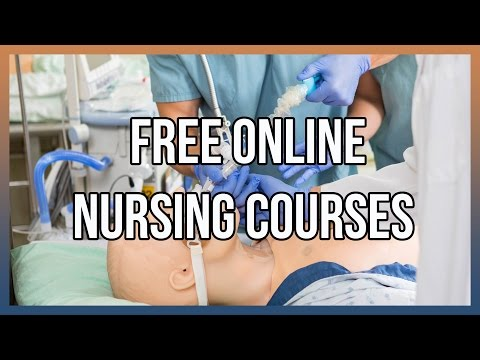Free Online Nursing Courses - YouTube