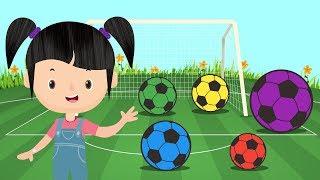 PETUALANGAN SI BUNBUN - Belajar Mengenal Warna Pakai Bola