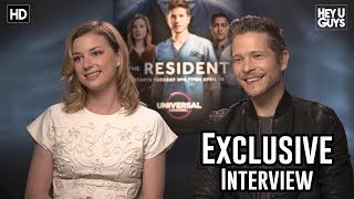 Matt Czuchry & Emily VanCamp - The Resident Exclusive Interview
