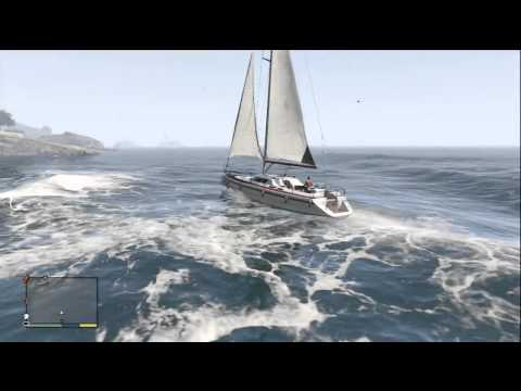 GTA 5 - Dinka Marquis Sailing Boat (Most Expensive Boat)