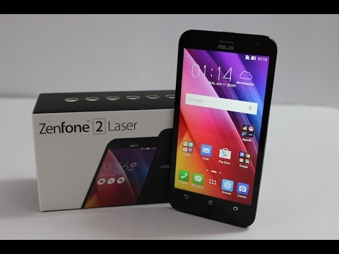 Asus Zenfone 2 Laser 5.0 Unboxing & Hands on