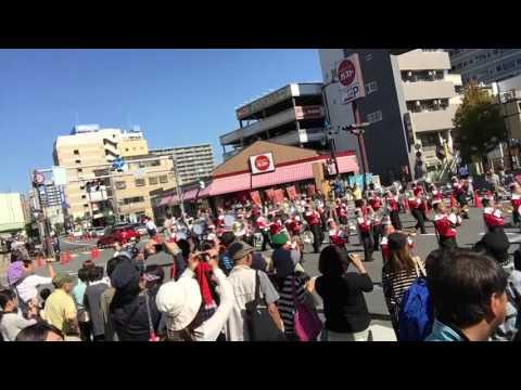 高崎マーチングフェスティバルTTL&高崎市立東部小学校パレード