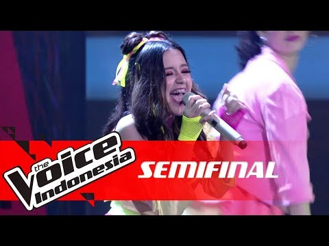 Virza - Thank You , Next (Ariana Grande) | SEMI FINAL |The Voice Indonesia GTV 2018 - The Voice Indonesia