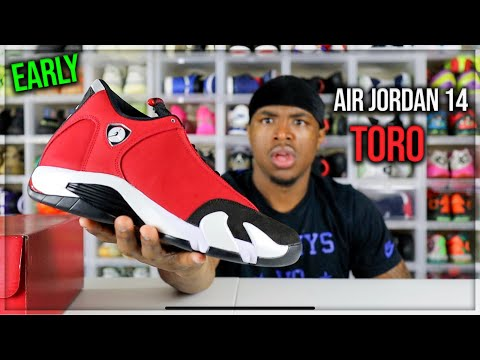 WATCH BEFORE YOU BUY! AIR JORDAN 14 TORO REVIEW