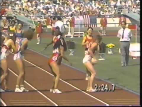 1988 Olympics - Women's 4x400 Meter Relay