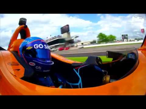 Fernando Alonso's 2019 Indy 500 qualifying run in the Last Row Shootout