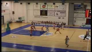 preview picture of video 'GR SERVICES CECINA - VALSESIA BASKET INTEGRALE 05/04/15'